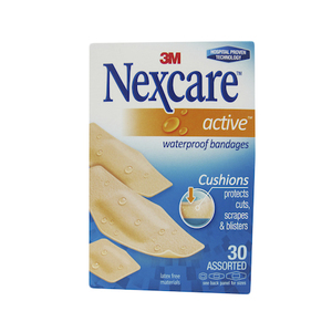 Nexcare Active Bandages 30s