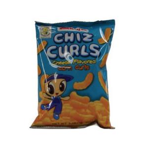 Jack&Jill Chiz Curls Cheese Flavored Corn Curls 55g