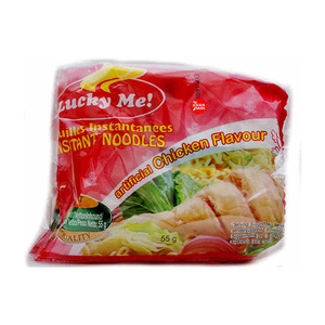 Lucky Me Noodles Chicken 6 X 6x55gm