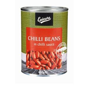 Epicure Chilli Beans in Chilli Sauce 400gm