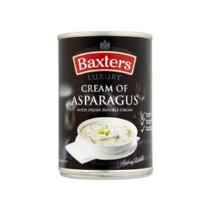 Baxters Luxury Cream Of Asparagus With Fresh Double Cream 400gm