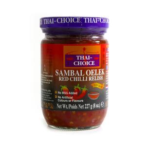 Thai Choice Sambal Oelek 227G
