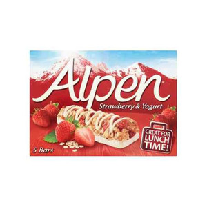 Alpen Strawberry And Yoghurt Cereal Bar 145gm