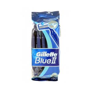 Gillette Blue Ii Shaving Blades Disposable Razors 10's