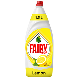 Fairy Lemon Dish Washing Liquid Soap 1.5L