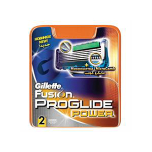 Gillette Fusion Pro Glide Power Blade 2s