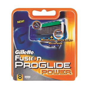 Gillette Fusion Proglide Power Men's Razor Blade Refills 8s