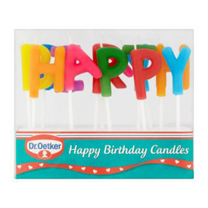 Dr. Oetker Happy Birthday Candles 19g
