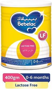 Bebelac Lactose Free Milk 400g
