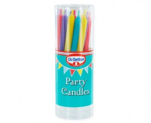 Dr Oetker Party Candles 15x18s