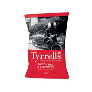 Tyrrell's Chips Sweet Chilli And Red Pepper 40g