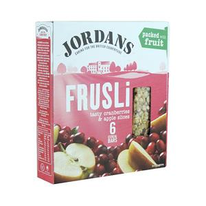 Jordan Crnbrry & Apple Frusli Bar 6 X36 Gm 6x36gm