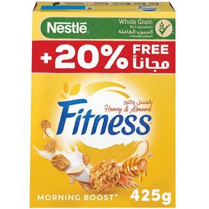 Nestle Fitness Honey & Almond Cereal 425g