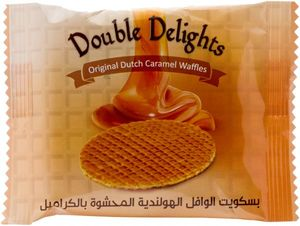 Double Delights Caramel Waffles 78g