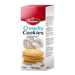 Hellema Crunchy cookies coconut 175