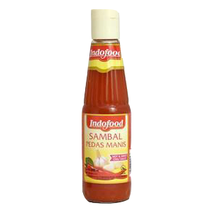 Indofood extra hot chili sauce 340ml