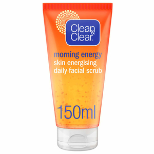 Clean & Clear Daily Face Scrub Morning Energy Skin Energising 150ml