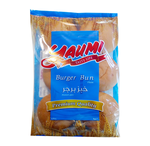 Yaumi Burger Bun Plain 6pc
