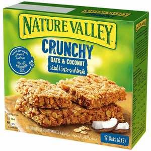 Nature Valley Crunchy Granola Bars Coconut Crunch Box 6x42g