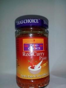 Thai choice red curry paste 110g