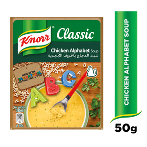 Knorr Packet Soup Alphabet 50g
