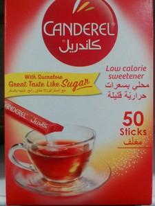 Canderel low calorie sweetener 50sticks 50g