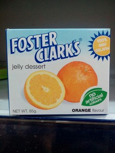 Foster Clarks Jeely Dessert Orange 85g