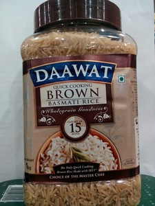 Daawat Basmati Rice Brown 1kg