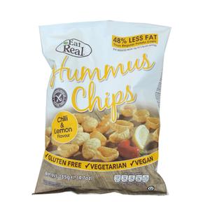 Eat Real Humus Chilli And Lemon Chips 135g