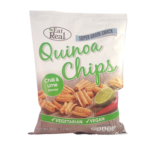 Eat Real Quinoa Chilli&Lime Chips 80g
