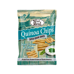 Eat Real Quinoa Sour Cream And Chive 80g