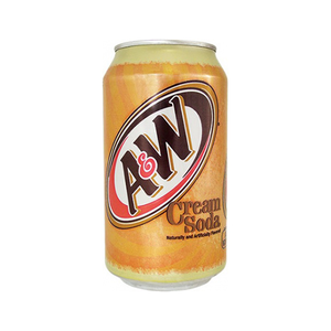 A & W Cream Soda 355ml