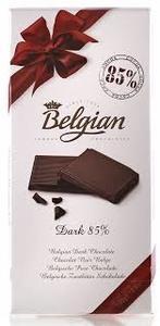 Belgian Chocolate 85% Dark Chocolate 100g