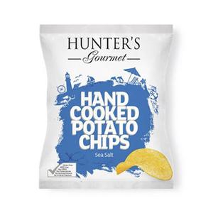 Hunter's Gourmet Hand Cooked Sea Salt 125g
