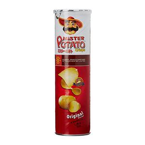 Mr. Potato Crisps Original Chips 160g