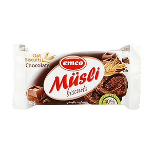 Emco Musli Biscuits Chocolate 60Gm