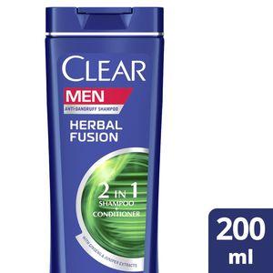 Clear Men's AntiDandruff Shampoo Herbal Fusion 200ml