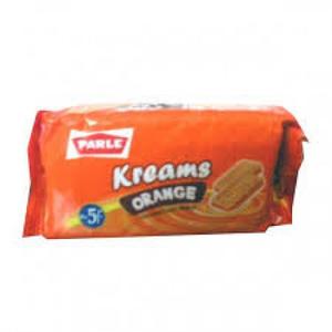 Parle Kreams Gold Orange 75g 75g