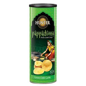 Hunter's Pop Green Chili 120g