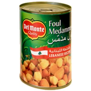Del Monte Foul Lebanese Recipe 400g