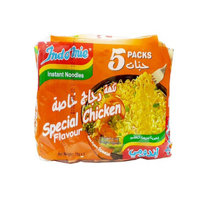 Indomie Noodles Special Chicken 5x75gm