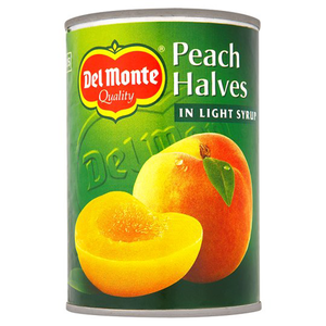Del Monte Peach Halves In Syrup 420g