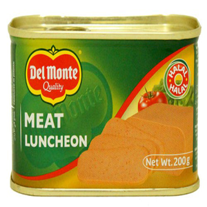 Delmonte Beef Luncheon Meat 200gm
