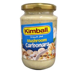 Kimball Pasta Sauce Mushrom Carborna 350gm