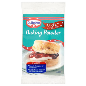 Dr Oetker Baking Powder 6x5g