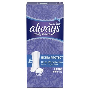 Always Daily Liners Extra Protect 16pcs