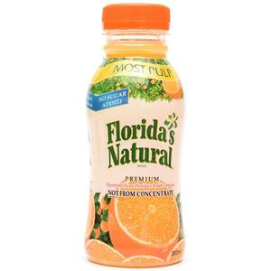 Floridas Natural Juice Orange Most Pulp 300ml