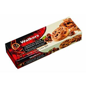 Walker Chunk & Hazelnut Biscuit 150g