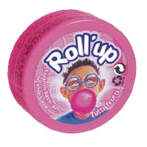 Lamylutti Gum Roll Up Tutti Fruiti 35gm