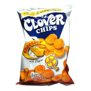 Jack&Jill Clover Chips Cheesier 95g